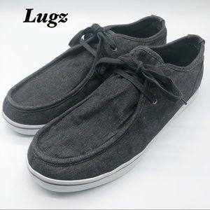 Lugz Dark Gray Sneakers Men's 14